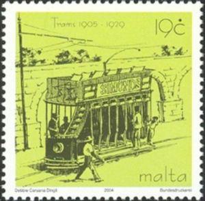 Trams---The-tram-past-the-Aquaduct-St-Venera
