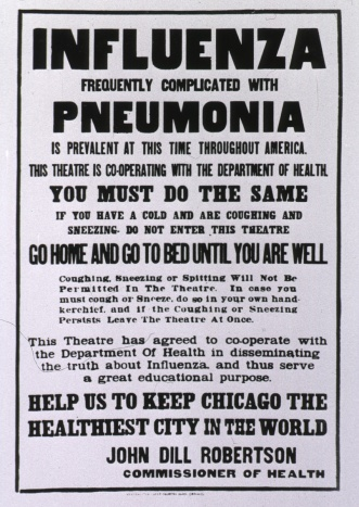 spanjola influenza