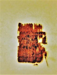Phoenician Inscription papyrus G_5774